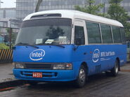 2008Computex Intel Staff Shuttle Bus A4-571