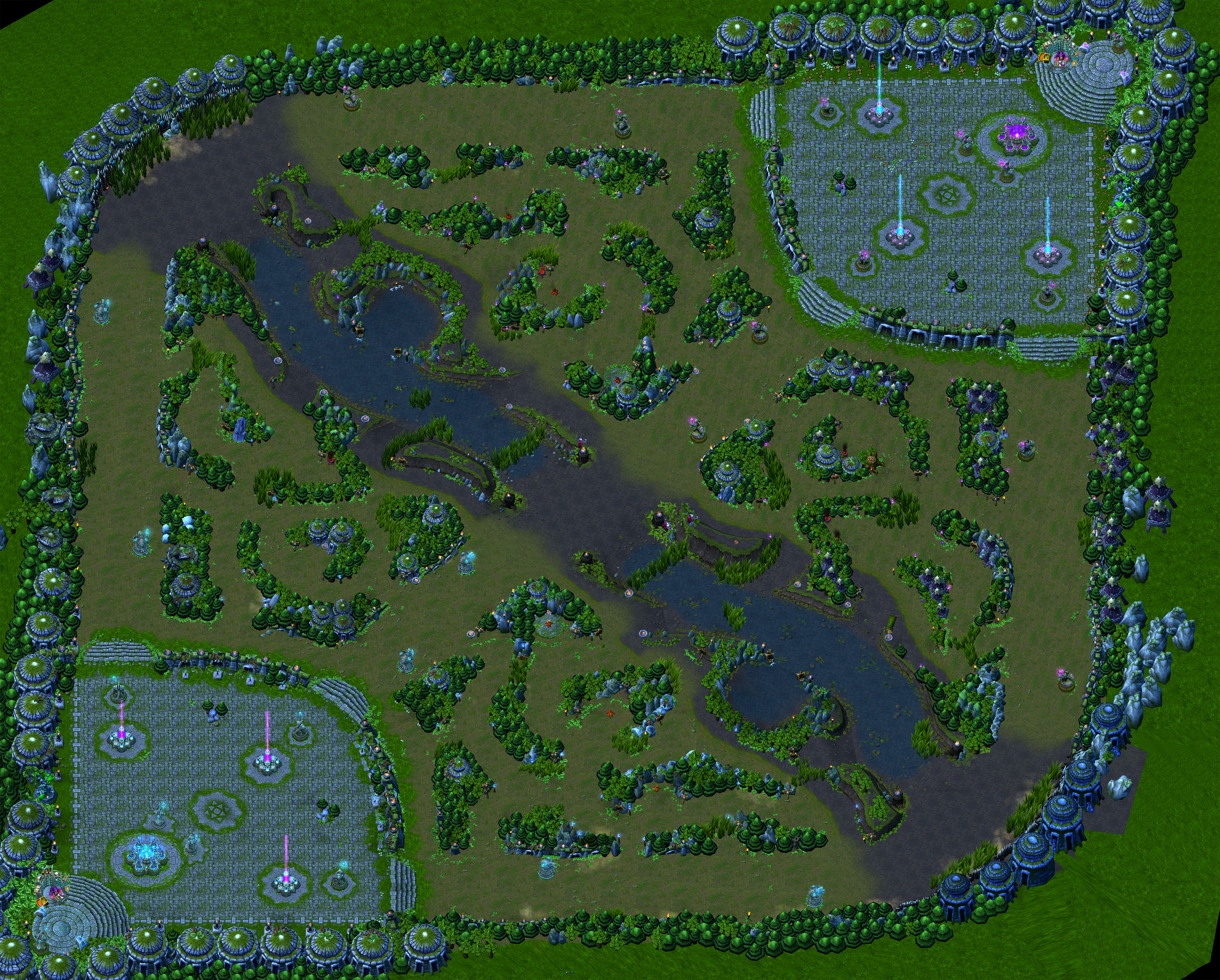 map dimensions league of legends munity