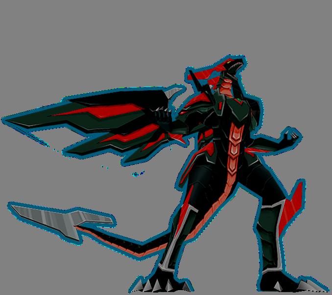 Corrupt Meta DragoMeta Dragonoid