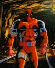 Wade Wilson Xmen Animated Series
