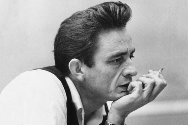 Johnny Cash Would Even Sometimes Not Use Hair Pomade To Grease His  Pompadour Hairstyle And He Would Instead Sport A Curly Pompadour!