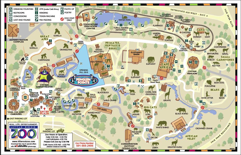 Little Rock Zoo  List Of Major Zoos In The US Wiki