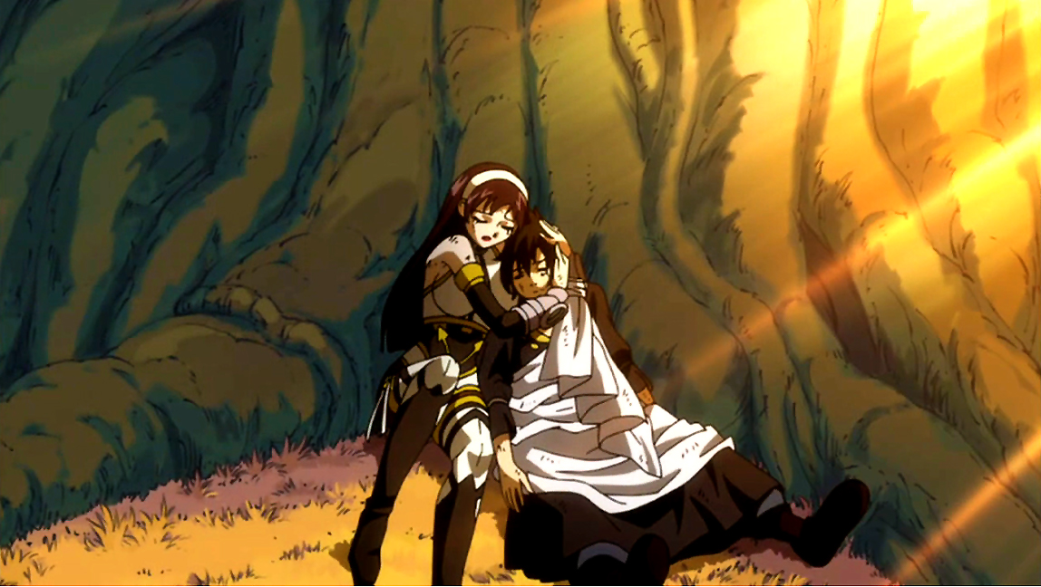 Image - Ultear hugs Zeref.jpg - Fairy Tail Wiki, the site ...