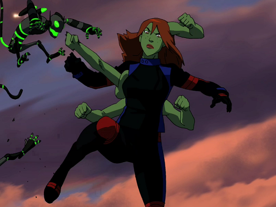 Excellent, Young justice miss martian that was