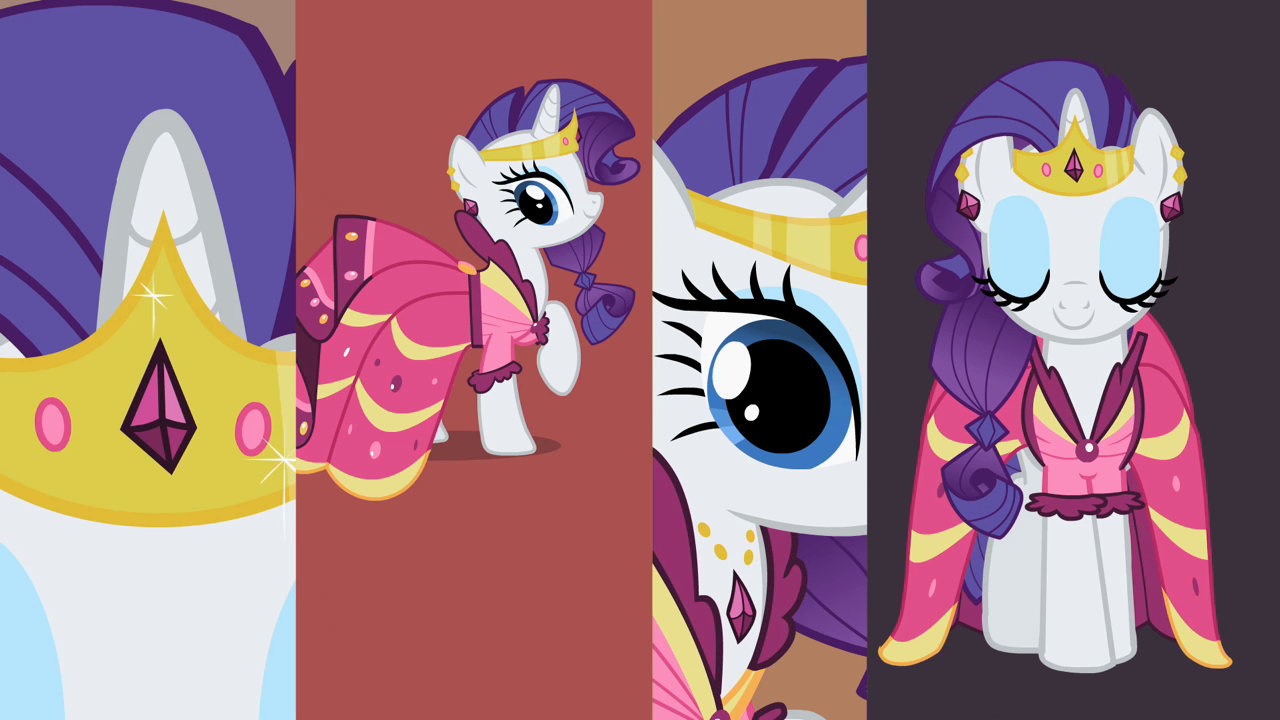 Image - Rarity wears her Gala dress S2E09.png - My Little ...