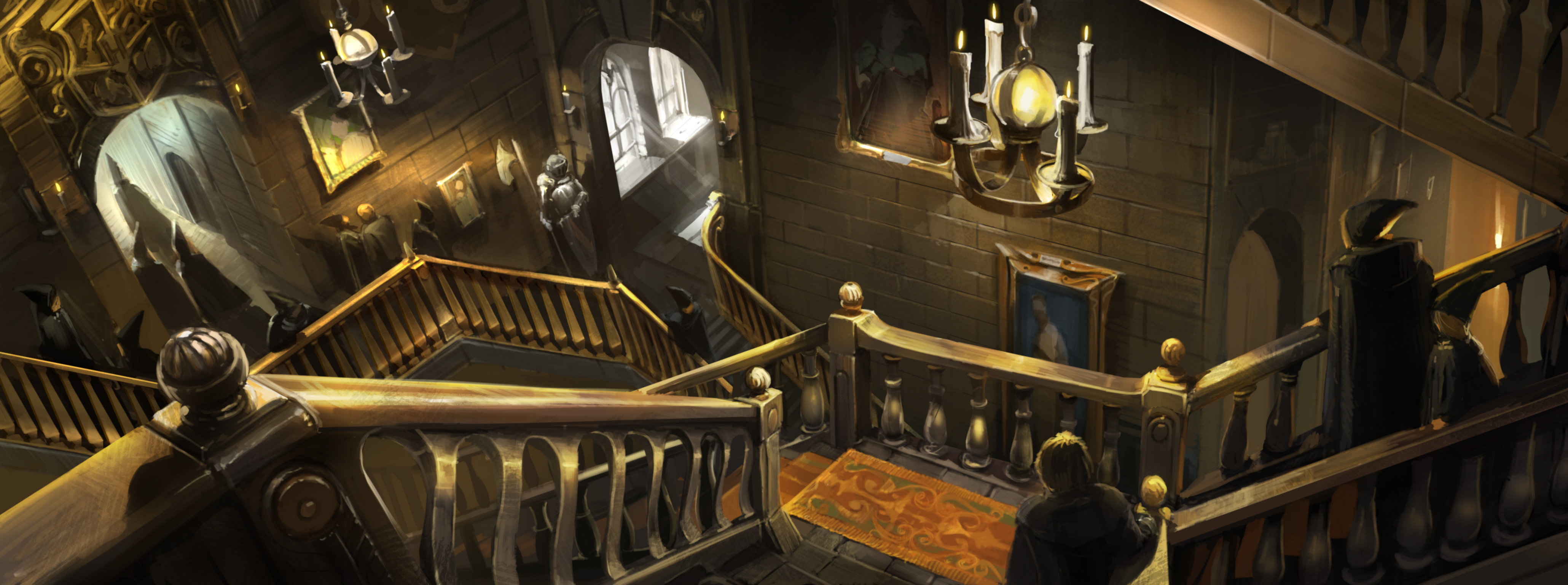 Grand Staircase Harry Potter Wiki