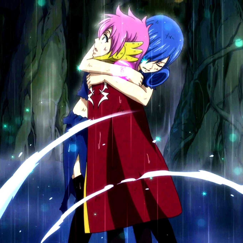 Juvia hugs meredy - Juvia fairy tail ...