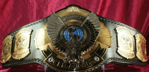 Does It Matter To You What A Championship Belt Looks Like
