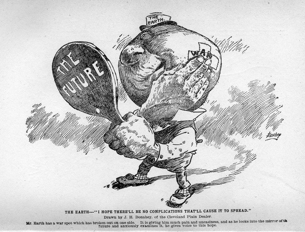 Early World War I - Alternative History