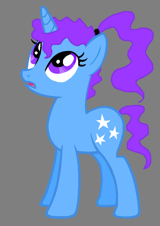 My little pony base unicorn