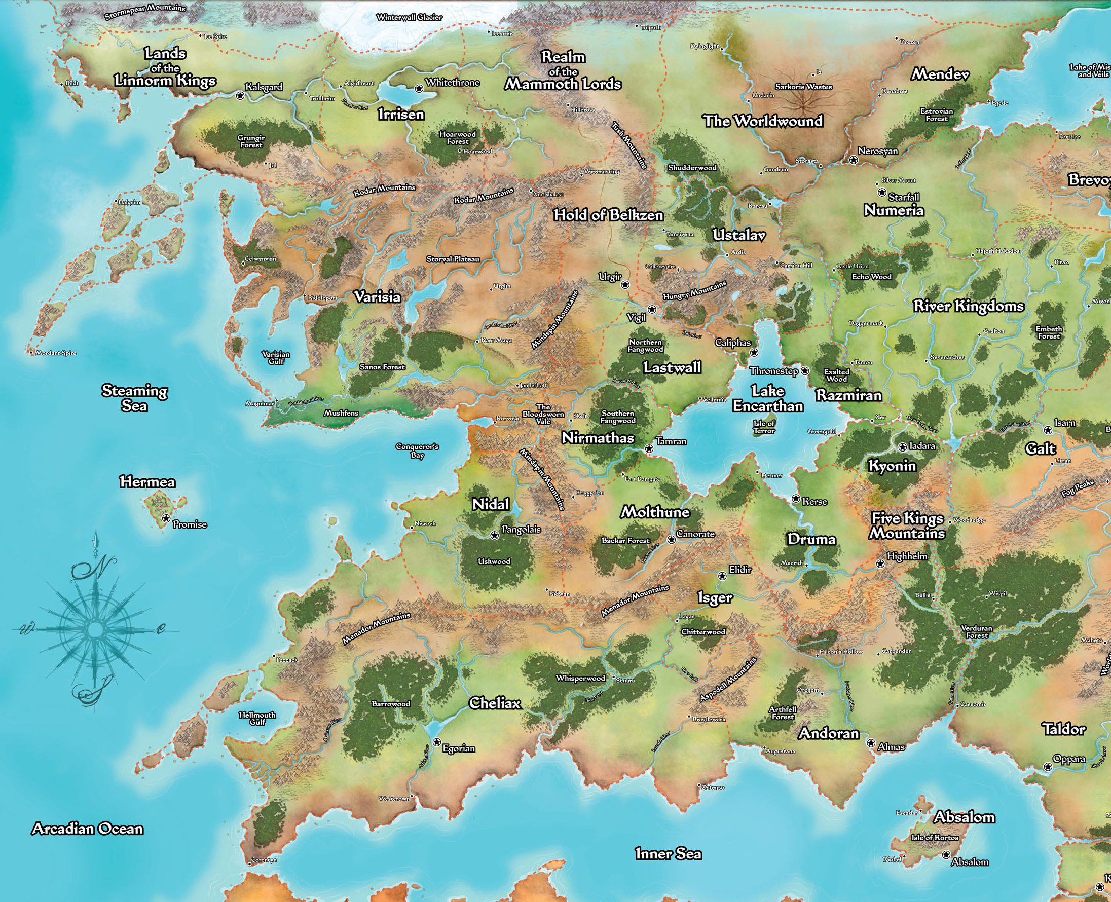 Pathfinder Campaign Setting: Rule of Fear 2011