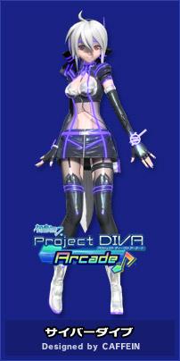 Caffein vocaloid wiki voice synthesizer - Cyber diva vocaloid ...