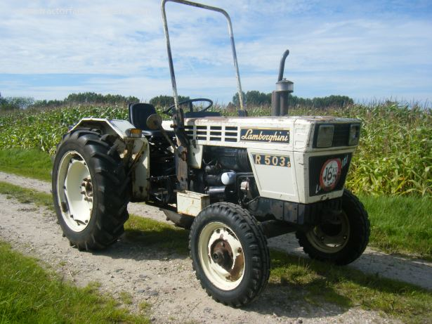 Lamborghini R 503s Tractor Amp Construction Plant Wiki The Classic Vehicle And Machinery Wiki