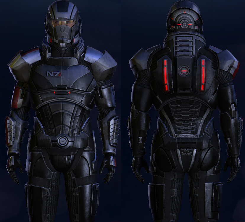 Mass effect armor the image kid has it for Mass effect 3 n7 armor template