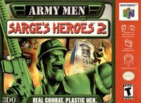 Army Men Sarges Heroes 2 N64 cover