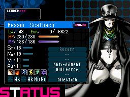 how to create scathach shin megami nocturne