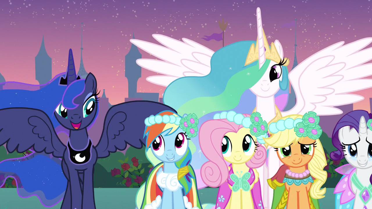 princess luna my little pony friendship is magic wiki fandom