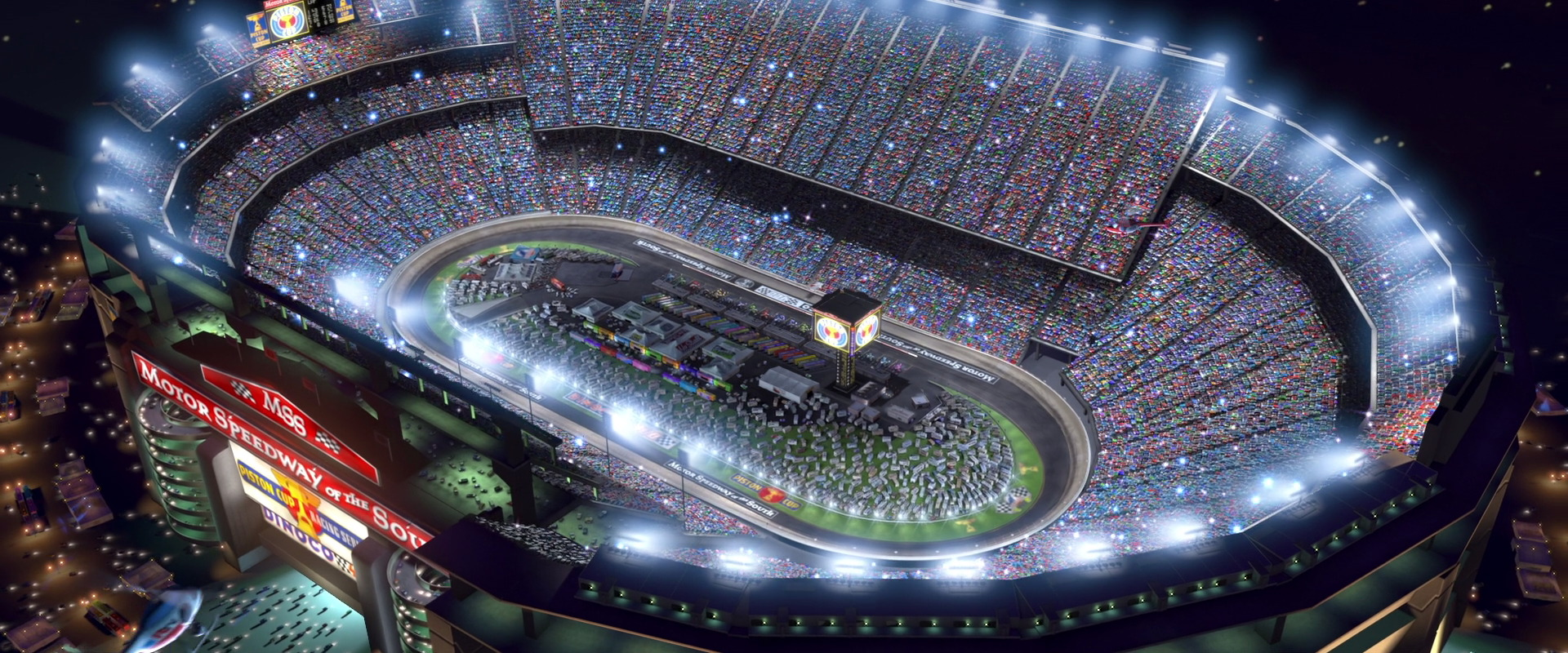 Motor Speedway Of The South World Of Cars Wiki