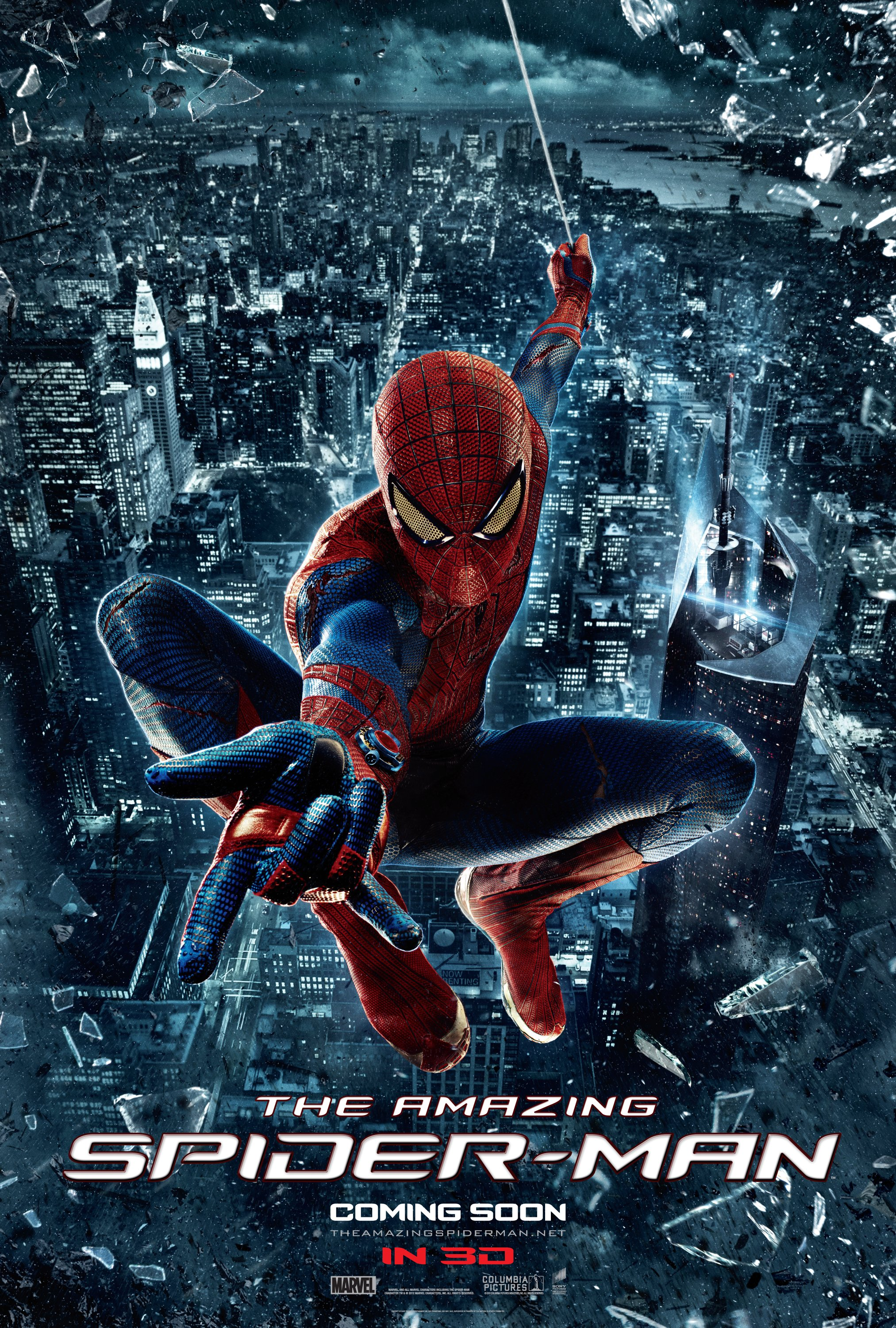 The amazing spider man 2012 marvel movies wiki for Uncharted 3 mural puzzle