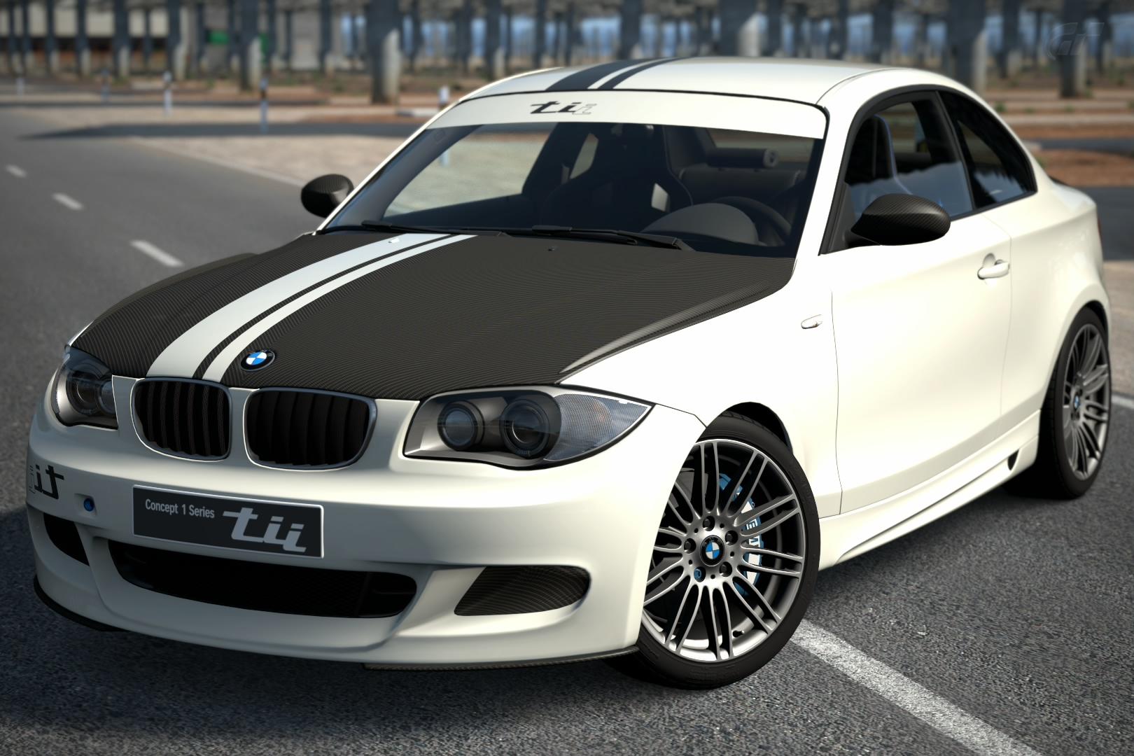 bmw concept 1 series tii 39 07 gran turismo wiki gran turismo tracks cars games and more. Black Bedroom Furniture Sets. Home Design Ideas