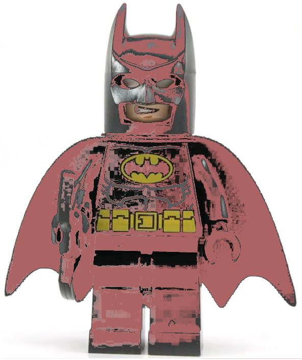 static pink batman - photo #1
