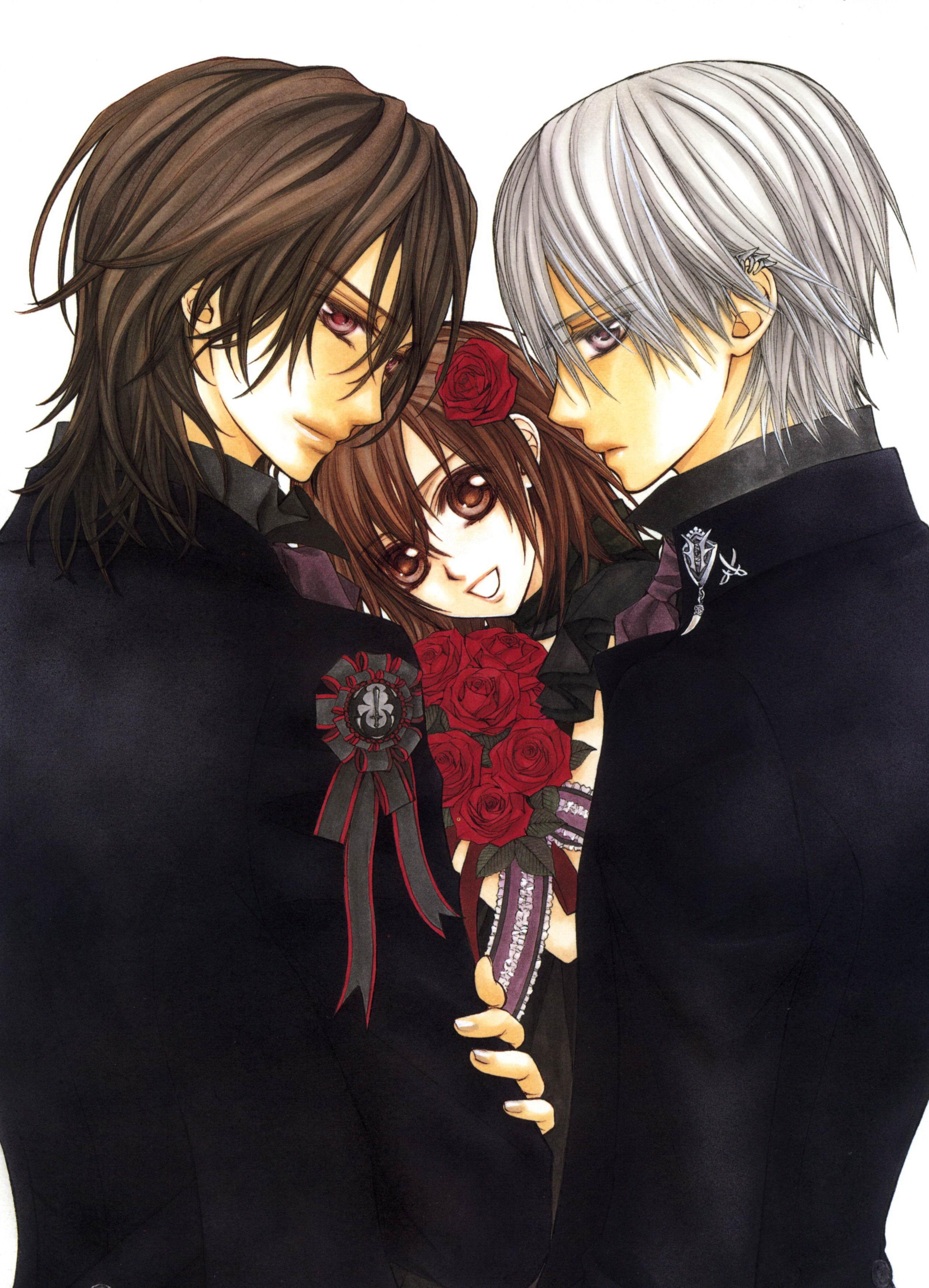 Vampire Knight Zero And Yuki And Kaname Kaname, Zero & ...
