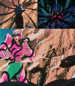 Caballero negro - Andromeda Negro Cadenas_de_serpientes