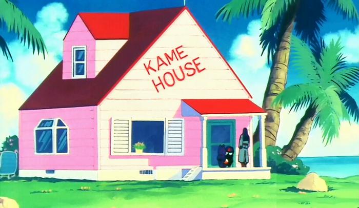 kame house dragon ball wiki. Black Bedroom Furniture Sets. Home Design Ideas
