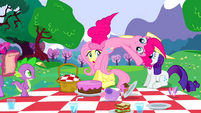 Pinkie Pie flipping out S2E25