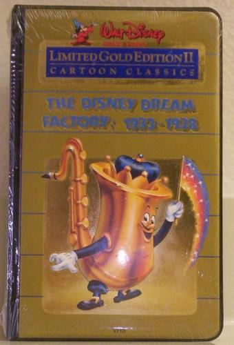 Walt Disney Cartoon Classics Limited Gold Editions