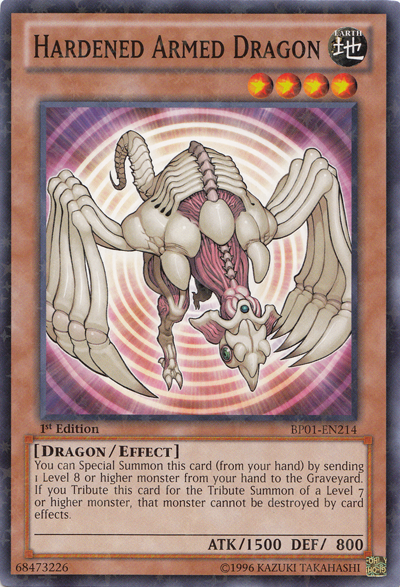 Hardened Armed Dragon - Yu-Gi-Oh! - It's time to Duel!