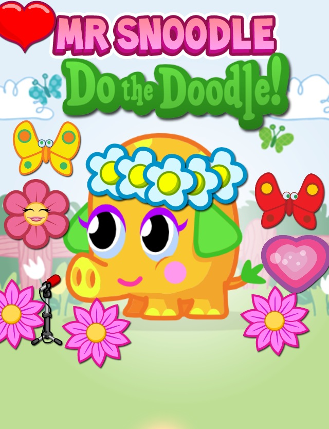 mr.snoodle moshi colouring pages (page 3)