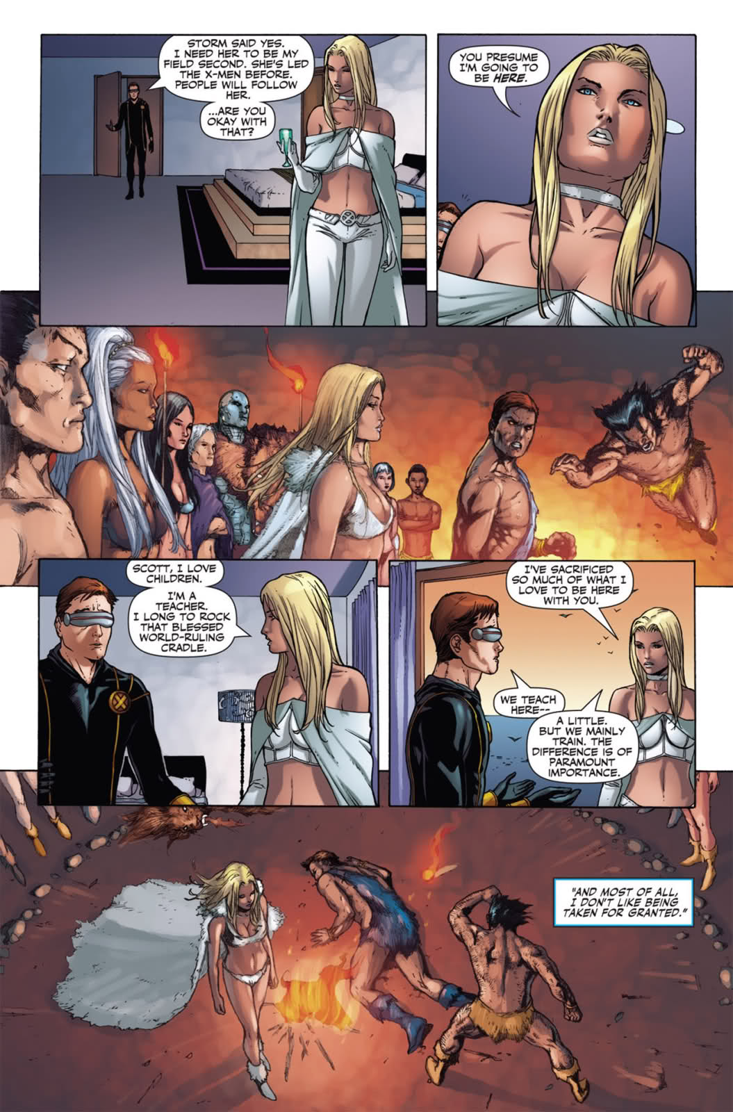 X Men Cyclops And Emma Frost Emma Frost - X-...