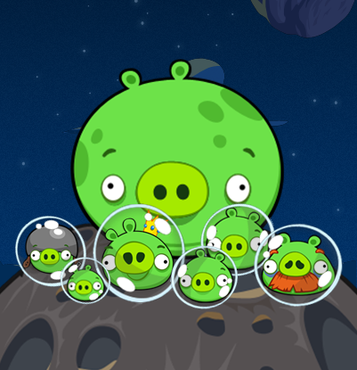 Space Angry Birds Pig Laugh Pictures to Pin on Pinterest  PinsDaddy
