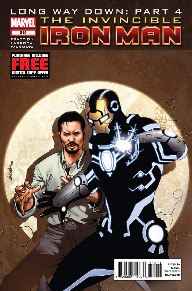Invincible Iron Man 1 Second Printing VARIANT Marvel 2008