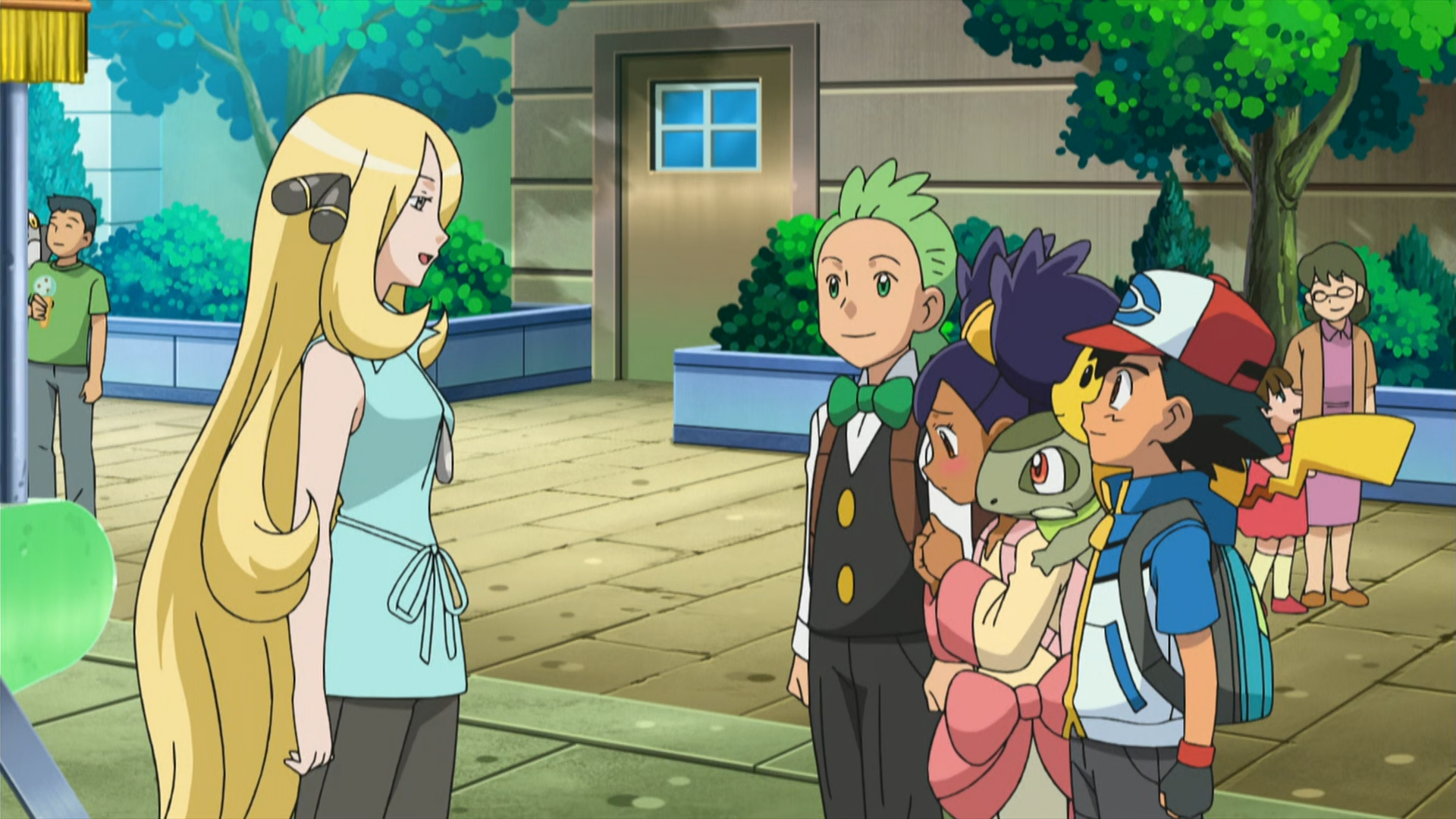 pokemon ash and iris cilan meet again
