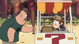 S1e1 soos with baseball bat