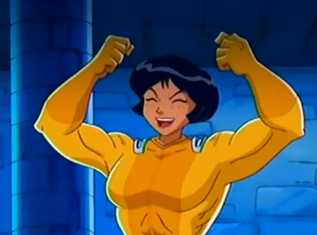 Image alex muscle 04 png totally spies wiki - Totally spies alex ...