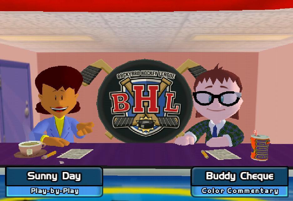 Sunny Day Backyard Baseball : Sunny Day and Buddy Cheque by raidpirate52