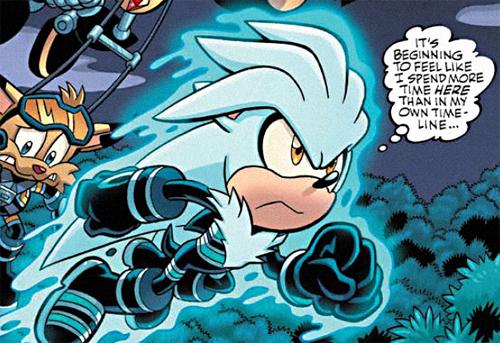 Silver the Hedgehog - Mobius Encyclopaedia - Sonic the ...