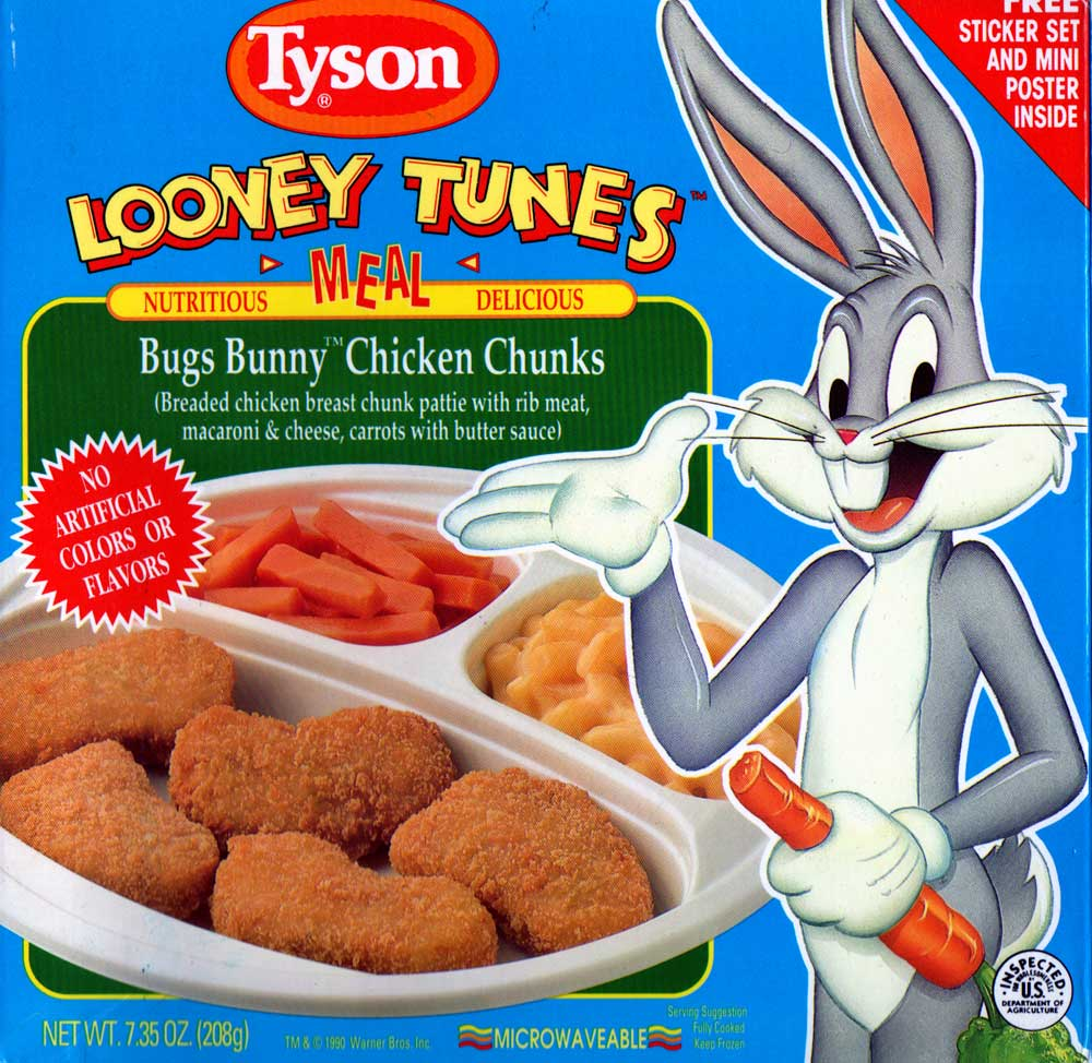 Bugs Bunny Chicken Chunks Tv Dinners Wiki