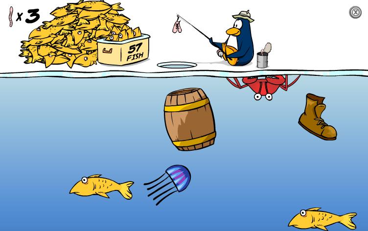 Что такое пингвин рыбалка