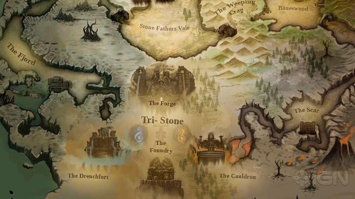 Darksiders 2 Map