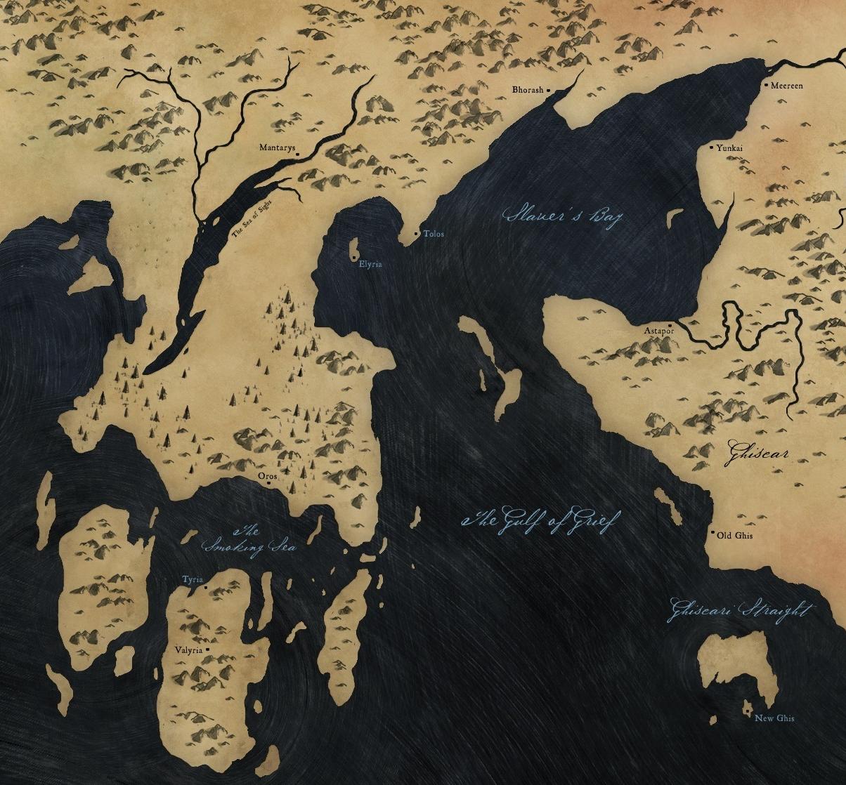 Slaver%27s_Bay Map Of Game Thrones Valeria on