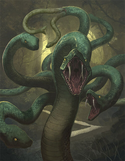 Monsters - Greek Mythology Wiki Greek Mythology Hydra