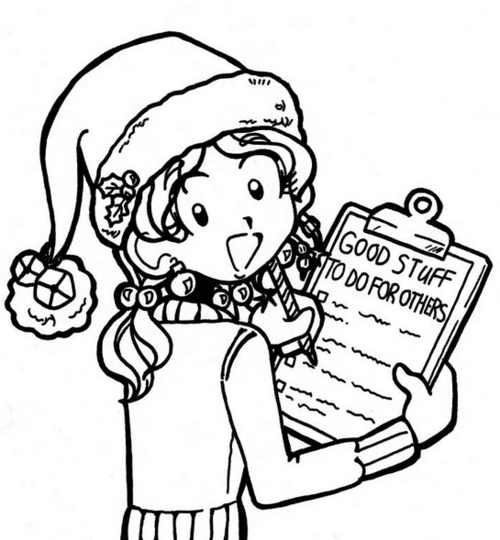 Gallery For > Nikki Dork Diaries Clipart