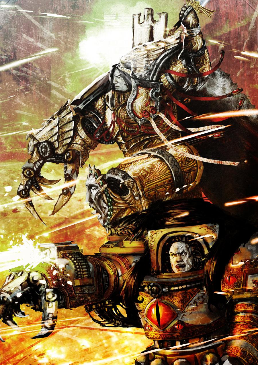Horus Lupercal - Warhammer 40K Wiki - Space Marines, Chaos ...  Horus Lupercal ...