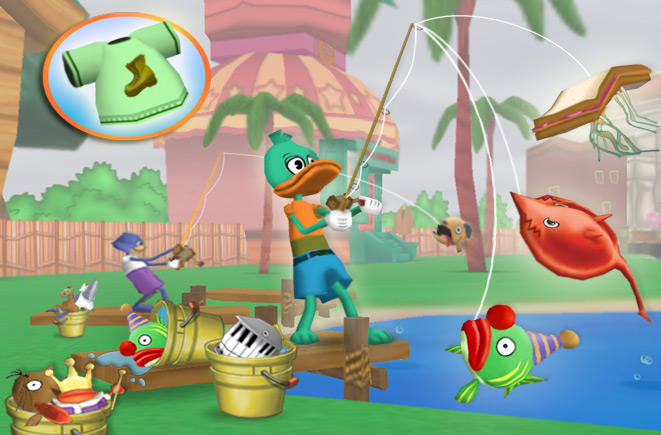 How to buy a fishing rod in toontown