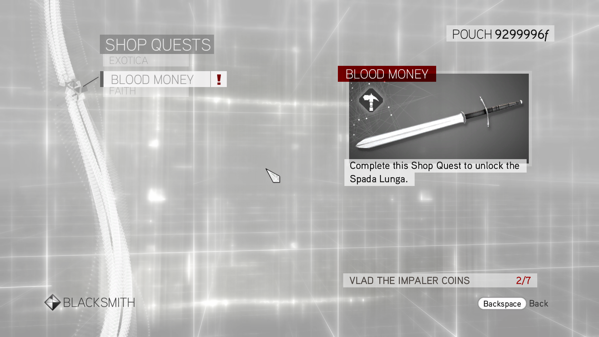 blood money quests 1 Hitman: blood money - pc + just cause 2 - pc total price: $2144 add both to  cart add both to list one of these items ships sooner than the other.