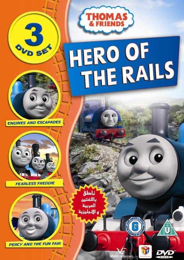 Hero Of The Rails Dvd Boxset Thomas The Tank Engine Wikia